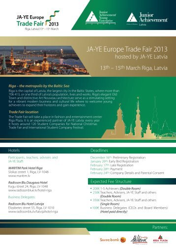 JA-YE Europe Trade Fair 2013