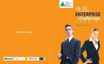 Participating Teams Brochure - ja-ye europe