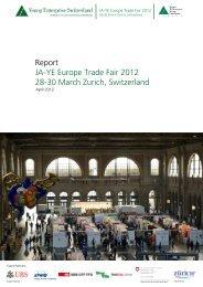Report JA-YE Europe Trade Fair 2012 28-30 March Zurich ...