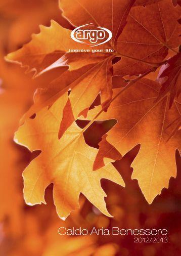Scarica il pdf - Argoclima, Climatizzazione, Riscaldamento ...