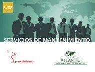 Catálogo mantenimientos Atlantic - Arqui.com