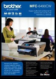 MFC-6490CW - Digital Copiers