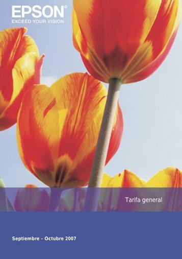 Tarifa en formato pdf - Arqui.com