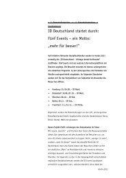 """ID Deutschland startet durch: Fünf Events – ein Motto: """"mehr für ..."""
