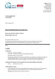An die Aussteller der id nord 2013 SAMSTAG 21.09.2013, 09:00-17 ...