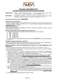 avviso informativo di procedura negoziata plurima - AMGA