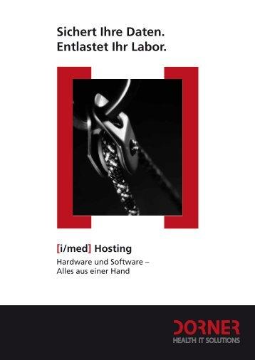 Weitere Informationen zu [i/med] Hosting - dorner.de