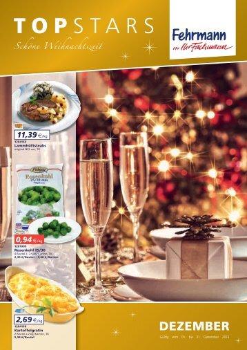 Monatsangebot Topstars Dezember - Fehrmann Fleischereibedarf