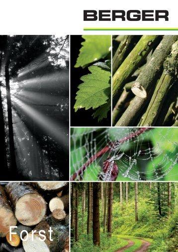 Garten- und Landschaftspflege / Forst - Julius Berger GmbH + Co. KG