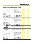 Garten- und Landschaftspflege / Forst - Julius Berger GmbH + Co. KG - Seite 4