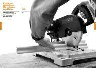 Kappkreis- sägeblätter/ Mitre circular saw blades - KWO Tools