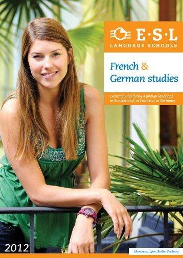 French & German studies - ESL PROLOG - Berlin