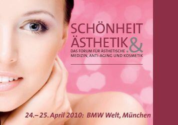 24.– 25. April 2010: BMW Welt, München - H & K Messe