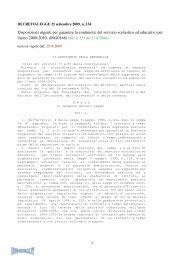Disposizioni urgenti per garantire la continuita' del ... - Info-Scuole