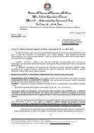 Circolare n.10341 del 03/06/11 - Info-Scuole