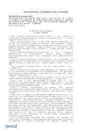 Decreto del 16/12/10 - Info-Scuole