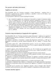 Nota del 30/10/09 - Info-Scuole