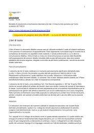 Avviso del 12/05/11 - Info-Scuole