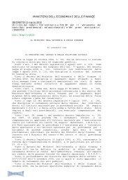 Decreto del 12/03/10 - Info-Scuole