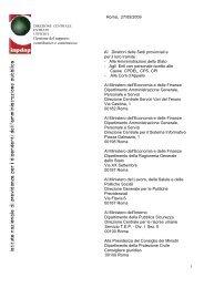 1 Roma, 27/05/2009 Gestione del rapporto contributivo ... - Info-Scuole
