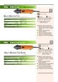 Vizualizare catalog PDF Fein - sectiunea MultiMaster SuperCut - Page 2