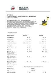 BPU 2540 Umkehrbare Vibrationsplatte 25kN, 40cm/16in