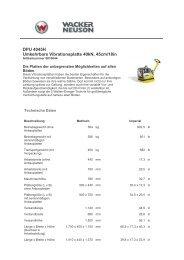 DPU 4045H Umkehrbare Vibrationsplatte 40kN, 45cm/18in