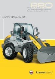 Kramer Radlader 880
