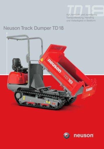 Neuson Track Dumper TD18-S