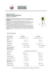 EH 23 Low Vib Elektro-Aufbruchhammer