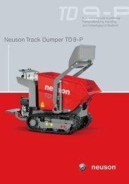 Neuson Track Dumper TD 9-P