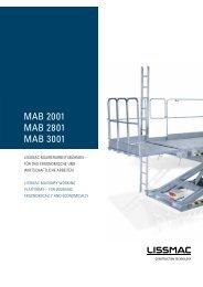 MAB 2001 MAB 2801 MAB 3001