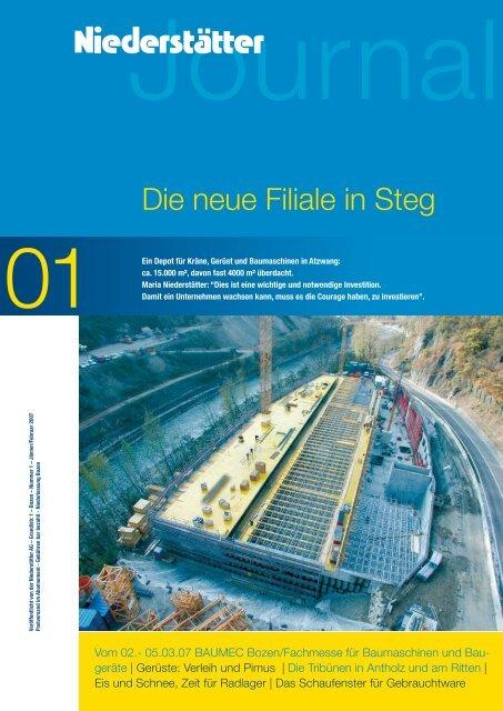 Download pdf Datei - NIEDERSTÄTTER