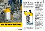 Schmutzwasser-Tauchmotorpumpen