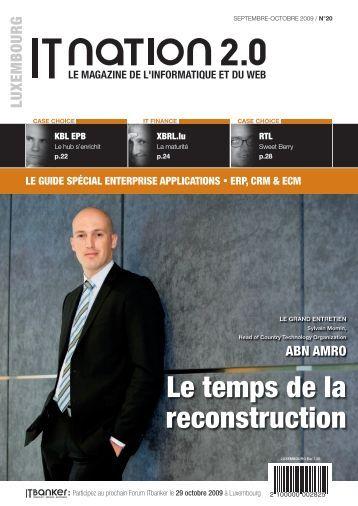 Le temps de la reconstruction - ITnation