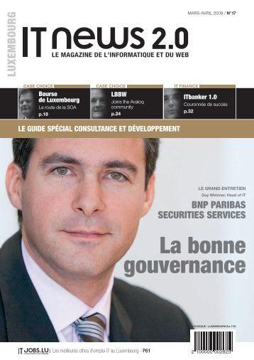La bonne gouvernance - ITnation