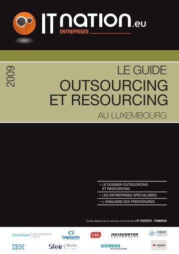 OUTSOURCING ET RESOURCING - ITnation