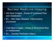Nuclear Medicine Imaging - Quantitative Light Imaging Laboratory