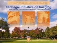 Strategic Initiative on Imaging - Quantitative Light Imaging Laboratory