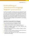 Lehrgangsprogramm 2010 - Elektro-Innung Berlin - Seite 3