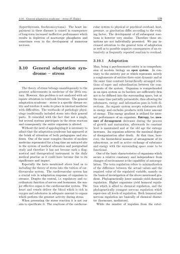 3.10 General adaptation syn- drome – stress