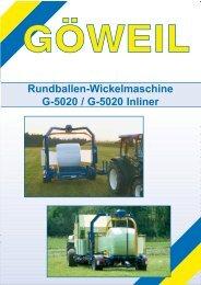 Rundballen-Wickelmaschine G-5020 / G-5020 Inliner - EZ AGRAR