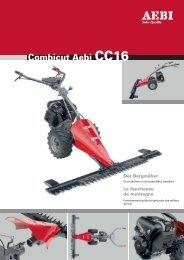 Combicut Aebi CC16 - EZ AGRAR