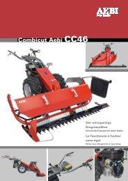 Combicut Aebi CC46 - EZ AGRAR