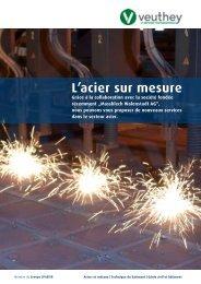 L'acier sur mesure - Spaeter AG