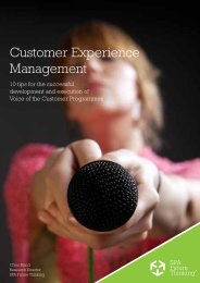 Top 10 tips for implementing successful Voice of the Customer ...