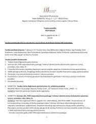 Tarybos posėdžio protokolas - spa