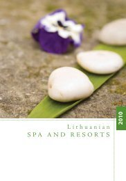 Lithuanian SPA AND RESORTS