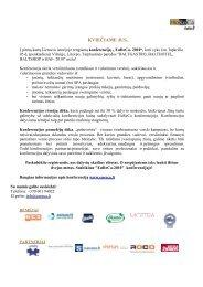 Konferencijos programa - spa
