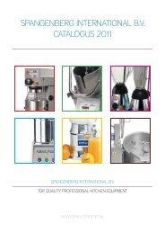 Spangenberg Catalogus 2011.indd - Spangenberg International BV